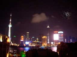 Shanghai - view from the Bund